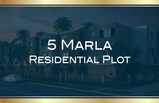 5 marla residential